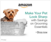 Amazon Make your pet look sharp with savings on grooming essentials, shop now.
