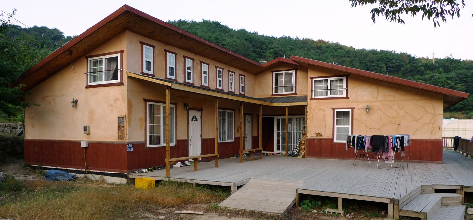 Sancheong-gun South Korea  City pictures : ... ベイルハウス Straw Bale Homes in Sancheong, South Korea