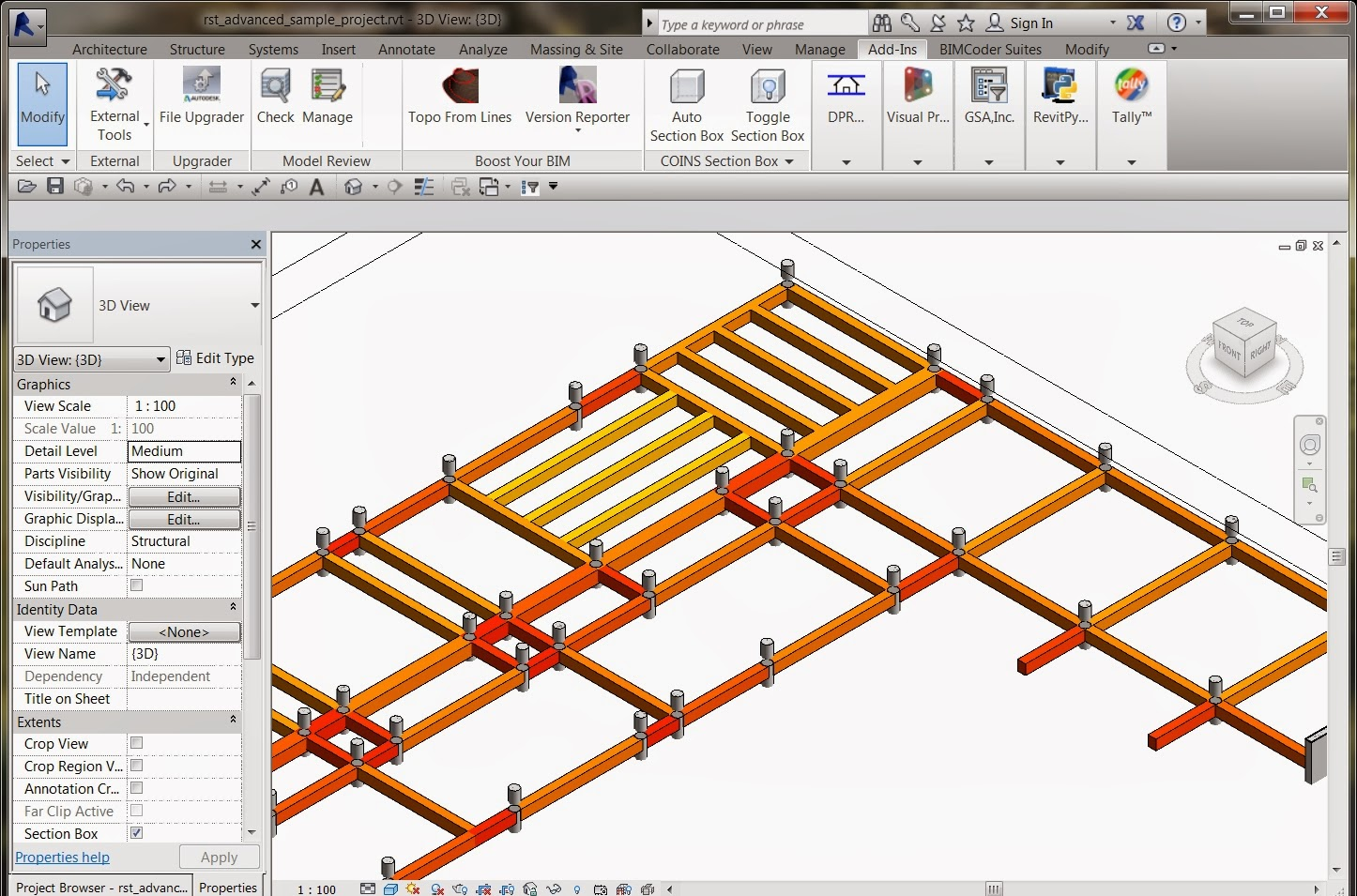 Dynamoing Structural Framing   Summit Technologies