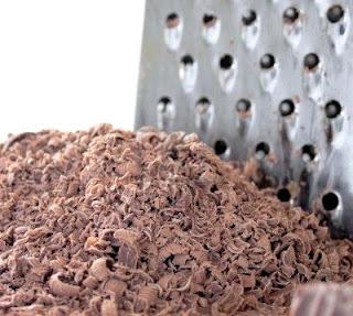 مبرشة الخضروات والفواكه 1424168-a-heap-of-grated-chocolate-with-a-grater-in-the-background.jpg