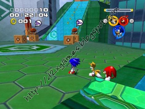 Free Download Games - Sonic Heroes