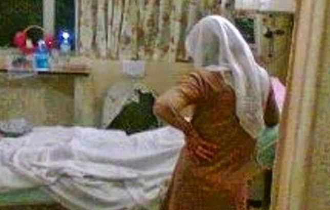 kisah benar isteri jaga suami hospital