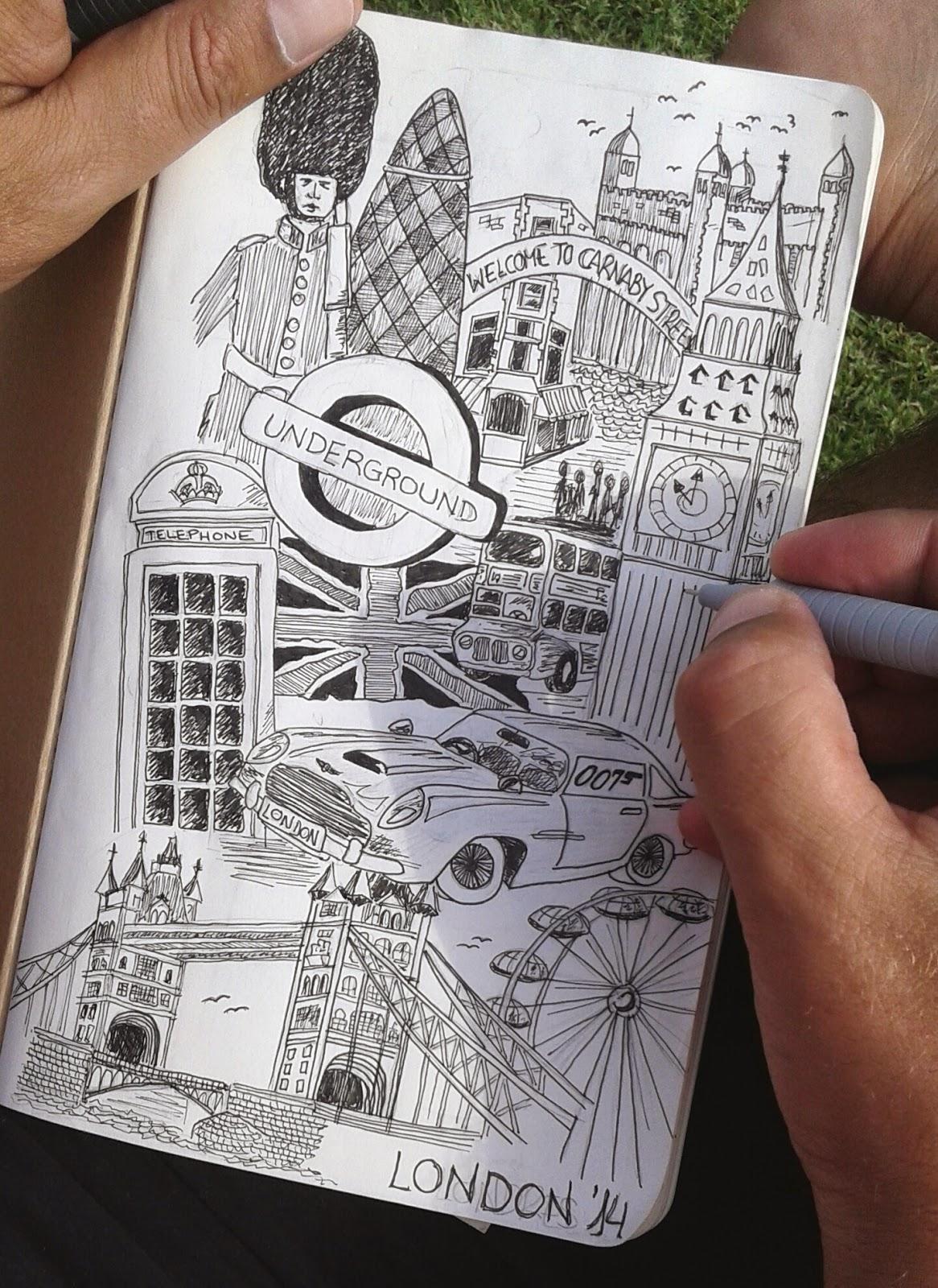urban sketch london