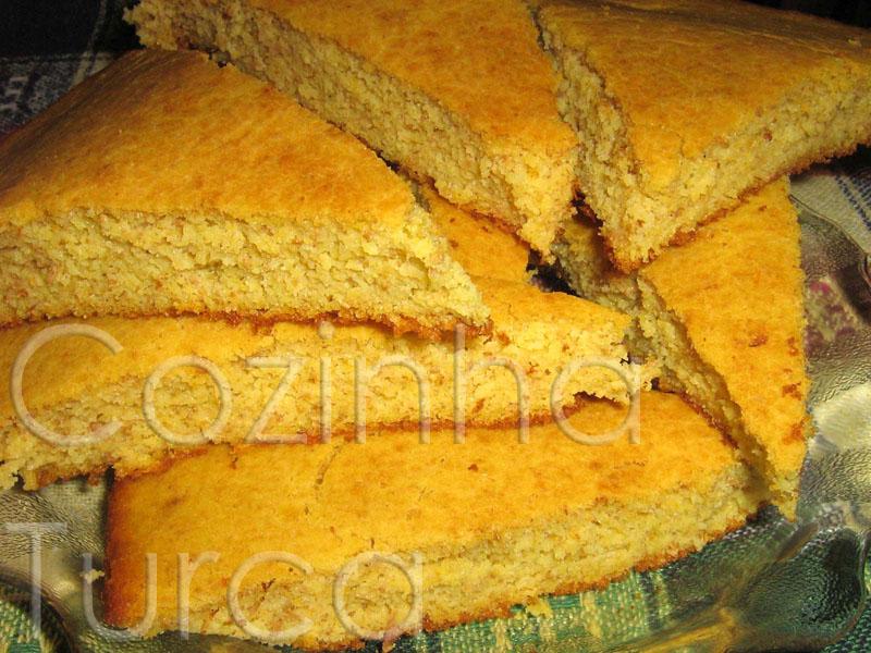 Pão de Milho e Limão (Mısır Ekmeği)