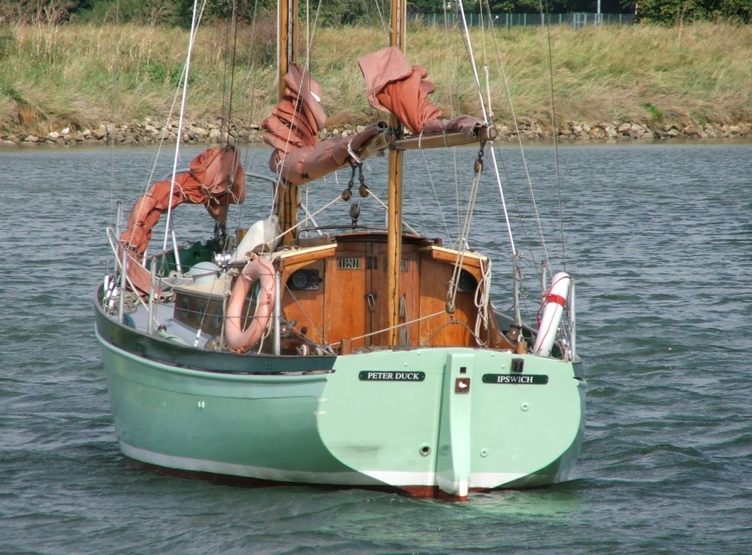 Although not a production boat, over 40 of these ketches were built.