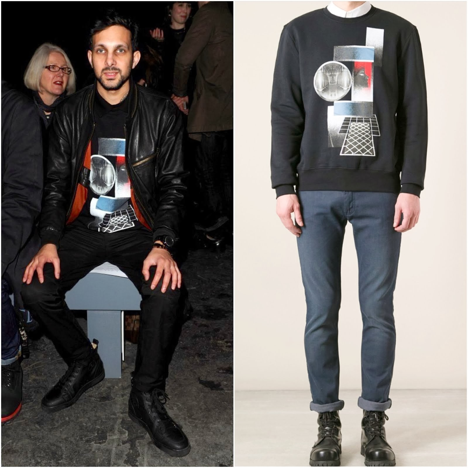 Dynamo in Dior Homme - London Collections: Men FW2014 Day 1 #LCM