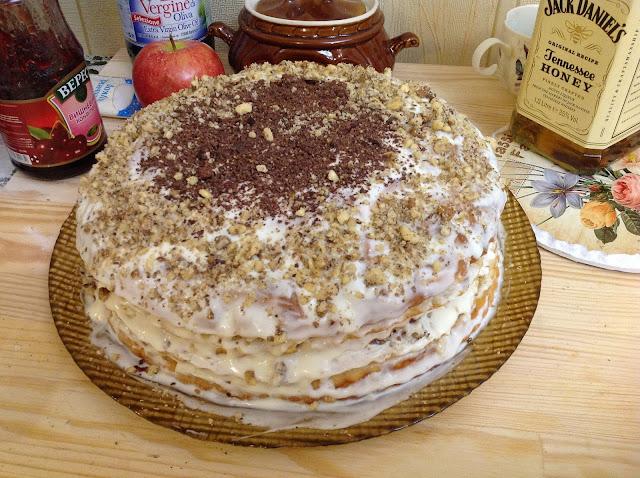 Рецкнт рождественский торт с фото