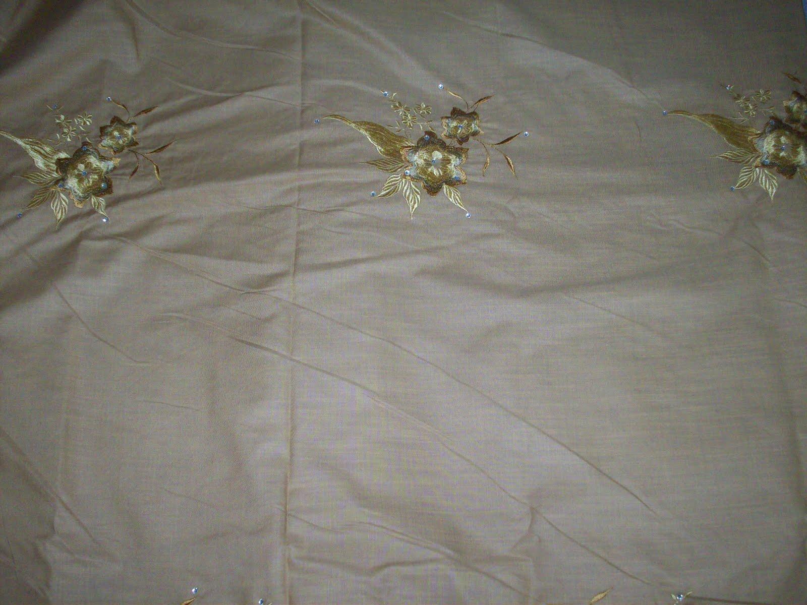galeri anggun cotton sb line bersulam