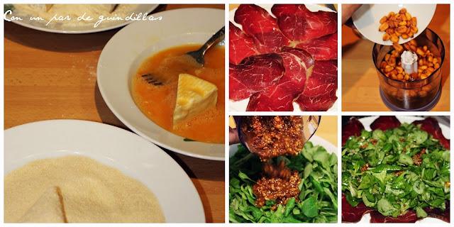 paso-paso-ensalada-canonigos-cecina-camembert-vinagreta-kikos