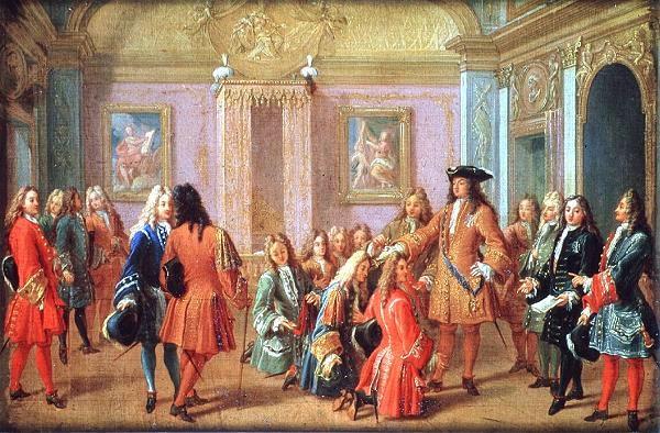 La corte de Versalles