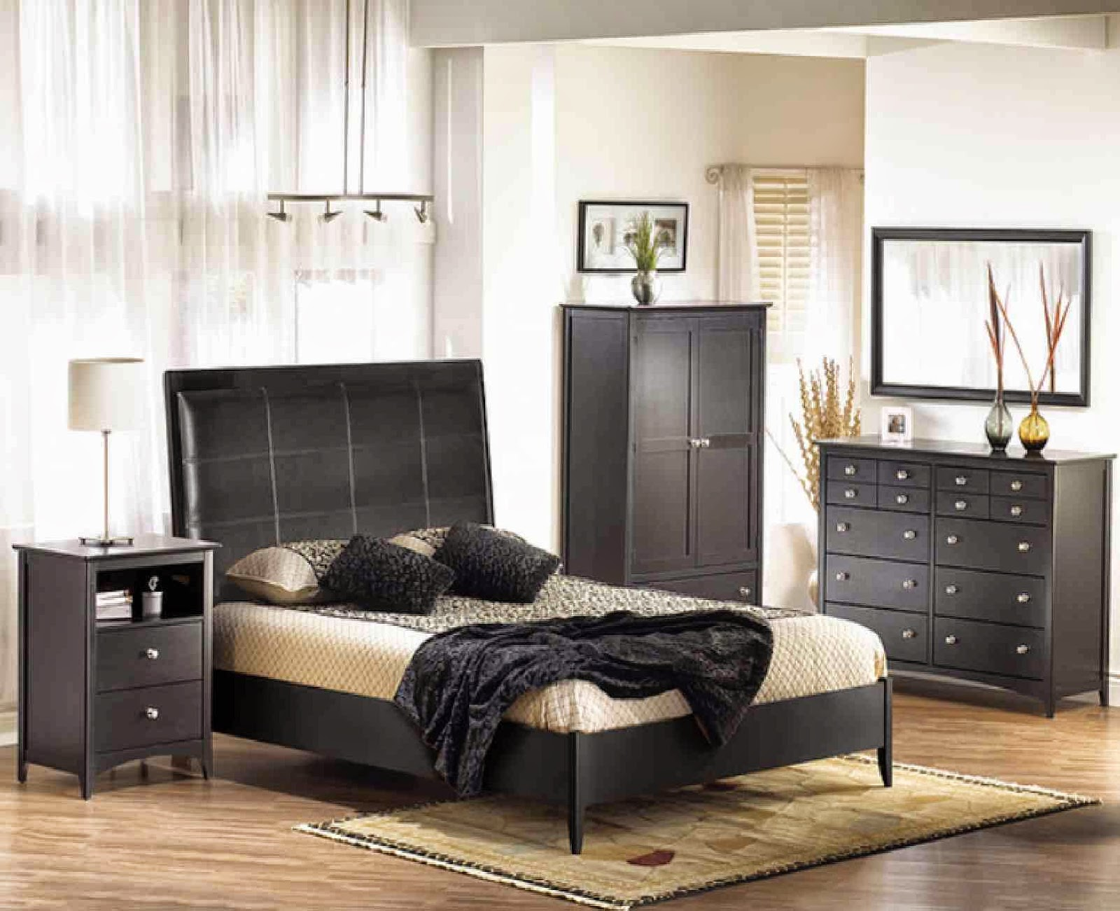 Brown And Black Bedroom Furniture
