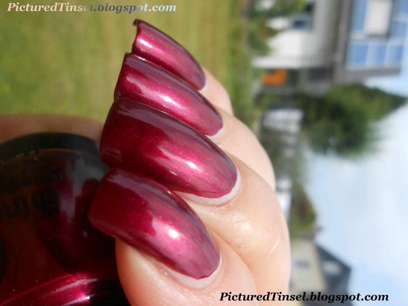 PicturedTinsel: China Glaze Red-Y & Willing - China Glaze Autumn ...