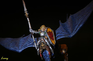 Vista frontal del Dragon Masters de Nick Bibby