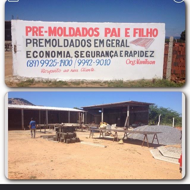 PRE-MOLDADOS PAI E FILHO