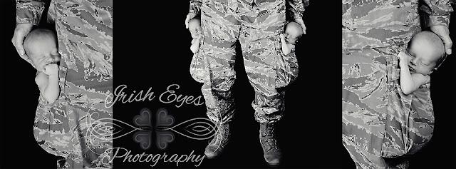 newborn twins military