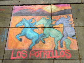 PICS OF PAST WEEKS:  Chalk Art at Cliftonfest