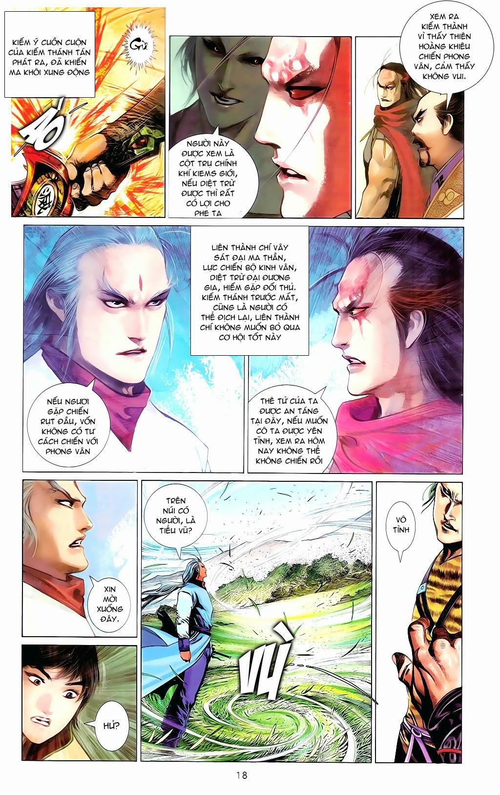 Phong Vân Chap 665 - Trang 17