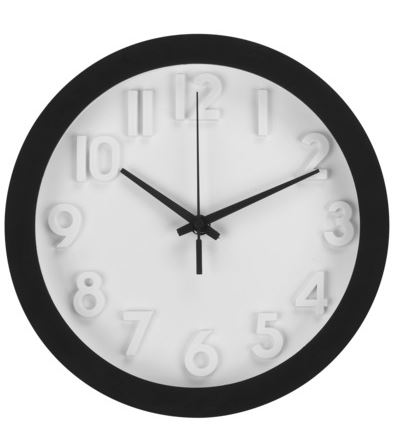 farmhouse style, Target.com, modern clock, wall clock, wall art