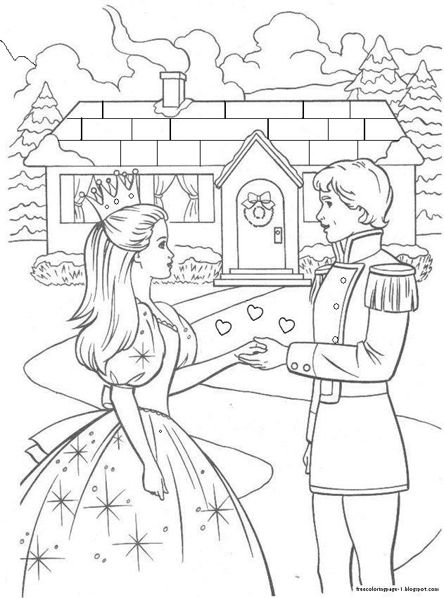 3 Barbie Cartoon Network Coloring Book Pages Colouring