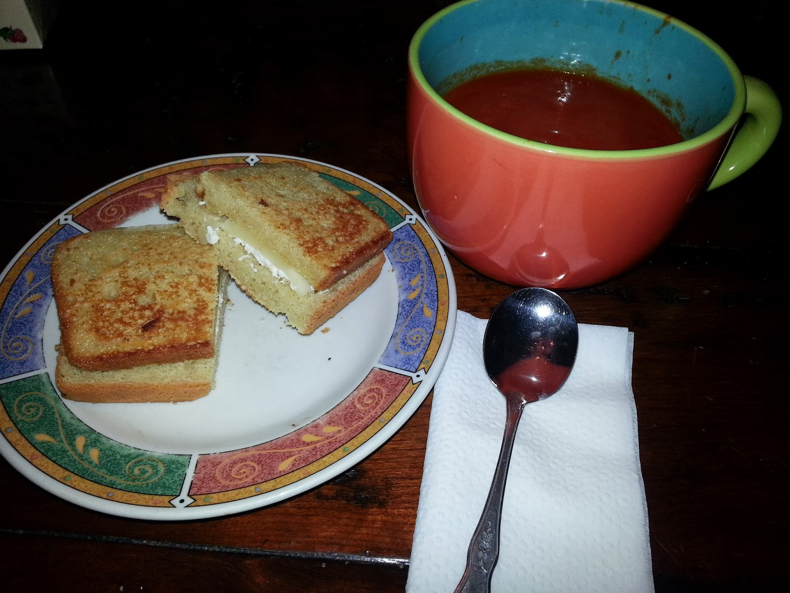 Gluten free grilled cheese & soup | Navigating Hectivity by Micki Bare