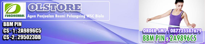 Pelangsing-Obat pelangsing wsc biolo Herbal Cepat Aman dan Ampuh