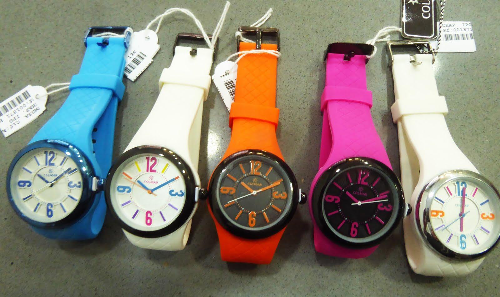 Relojes Colmar colores