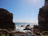 Lulworth Cove, kanał La Manche, plaża, klify, kamienista plaża,