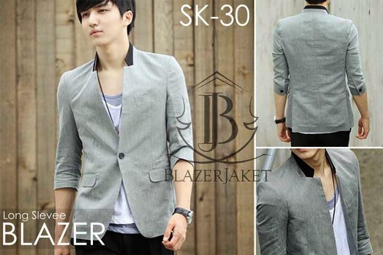 Gray Korean Blazer Style jaketkorea blazerkorea blazerjaket