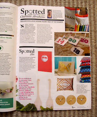 Spotted PLUS at Top Drawer Spring 2012