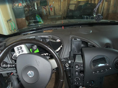Pontiac, Grand Prix, remove interior, radio