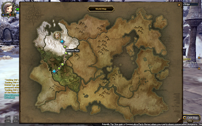 Dragon Nest - World Map