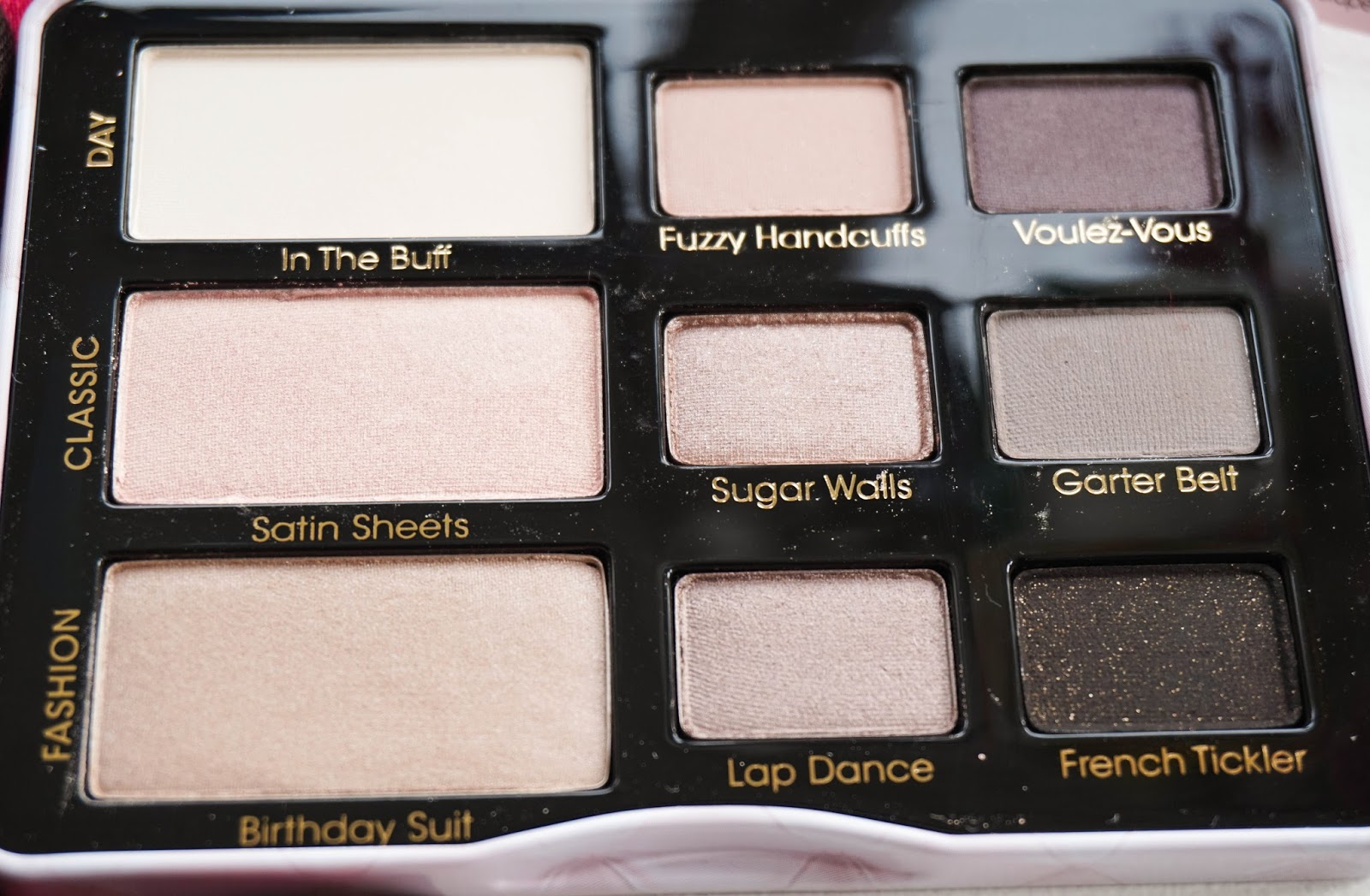 TooFaced Boudoir Eyes Palette