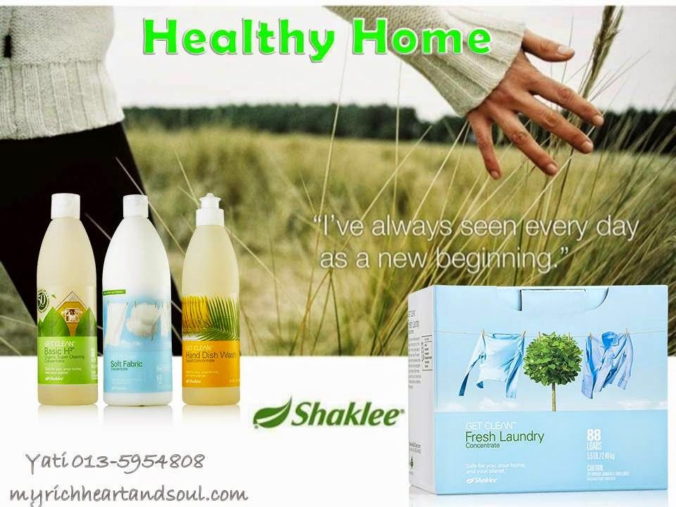 Apa Itu Set Get Clean Home Shaklee