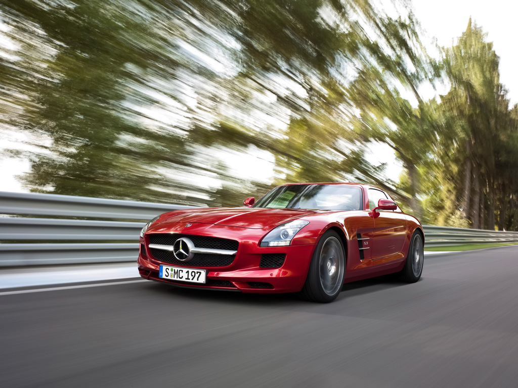 Autoblitz mercedes benz sls amg world 39 s fastest sports cars for Mercedes benz sports cars