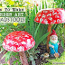 How To Make Garden Art Toadstools