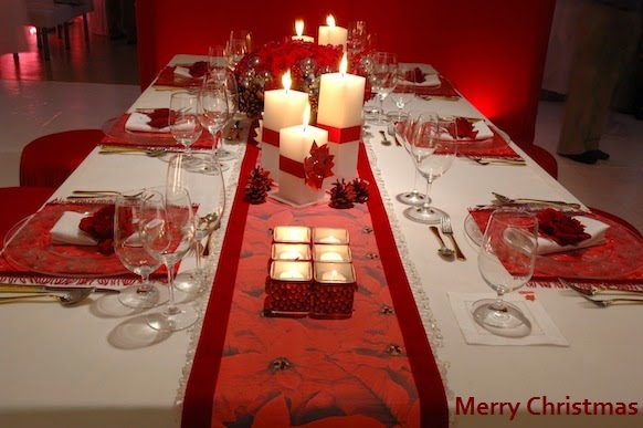 christmas table decoration ideas pinterest photo11