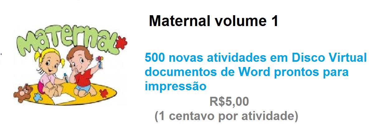 Maternal volume 1