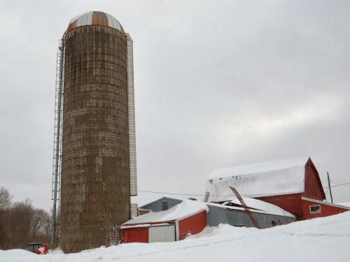 concrete stave silo