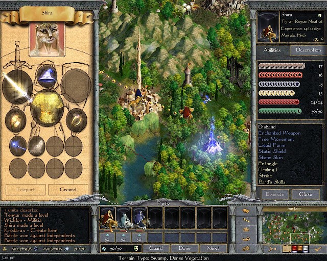 Age of Wonders 2 - Shira Tigran Hero Screenshot