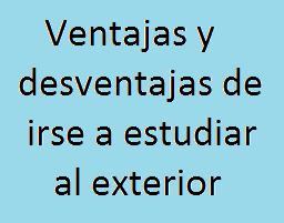 Ventajas, Desventajas, Universidad, Estudiar, Exterior