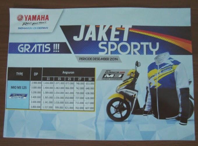 Simulasi Kredit Yamaha Mio M3 125 Blue Core