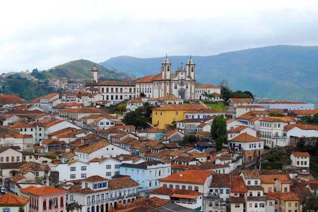 Historic Town of Ouro Preto Brazil