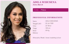 Foto Foto Finalis Miss Indonesia 2012 Adila wisusena Bugil dengan terbaru di video bugil