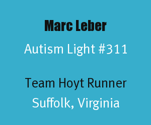 Header for Marc Leber Autism Light Number 311
