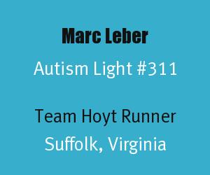 Header for Marc Leber Autism Light Number 311