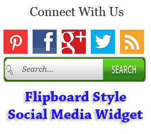 social following widget