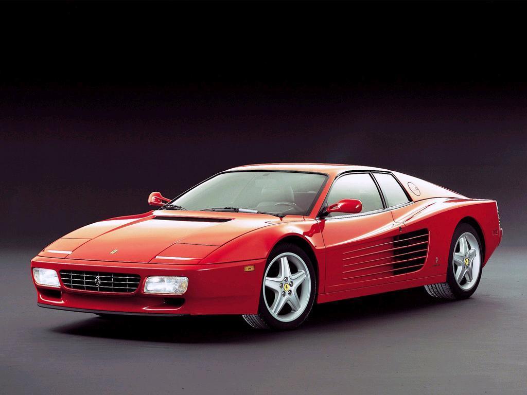 Ferrari testarossa mpg