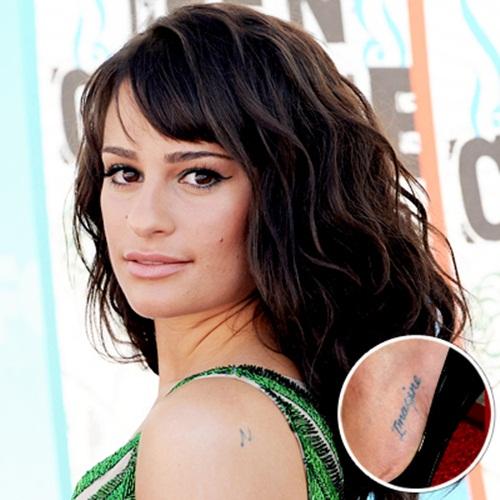 Tapete Bohemian Rhapsody : Lea Michele Tattoos