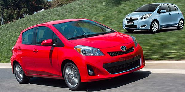 Toyota Unveils All New 2012 Yaris