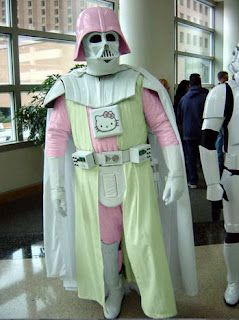 Hello Kitty Star Wars' Darth Vader Costume